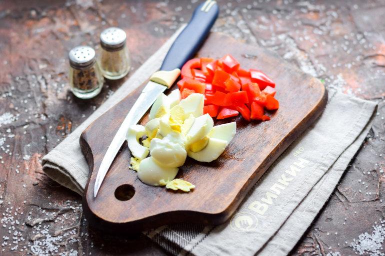 яйцо и перец