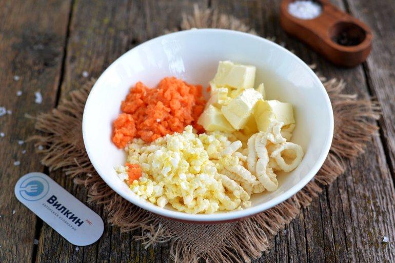 масло и морковь