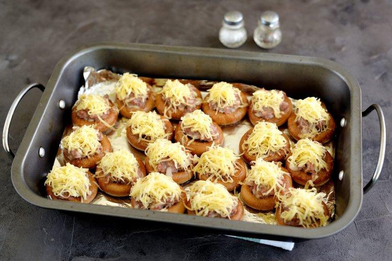 Сушки с фаршем в духовке рецепт с фото