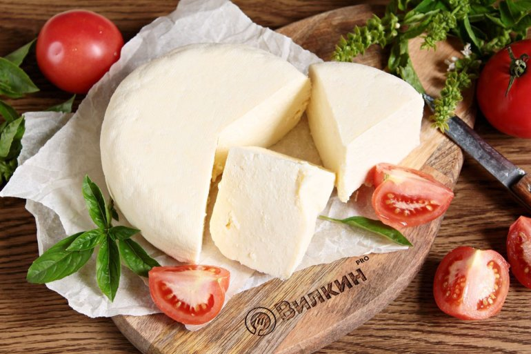 Домашний сыр из молока, сметаны и яиц