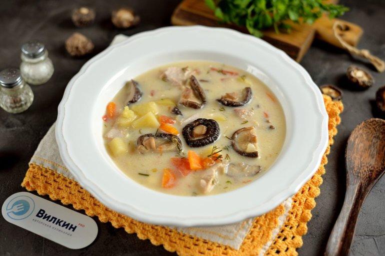 порция ароматного супа
