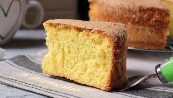 воздушный бисквит для торта