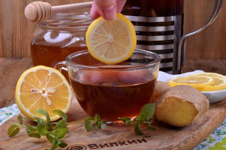 добавление лимона