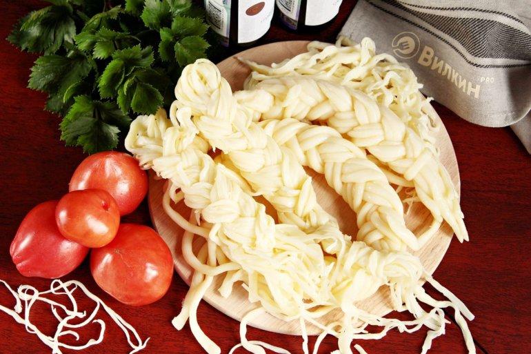 Армянский сыр чечил