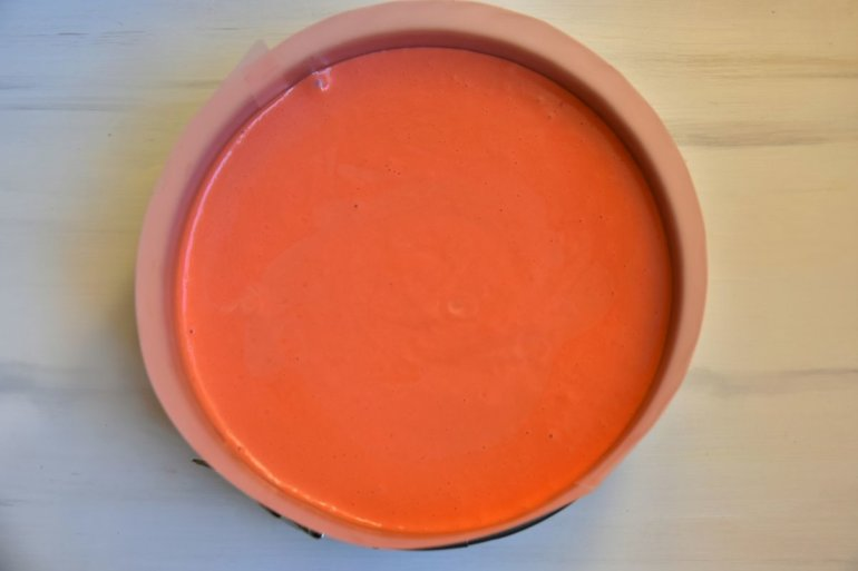 распределение крема на основе