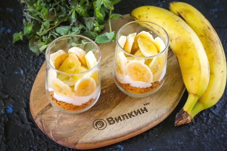 банановые кружочки