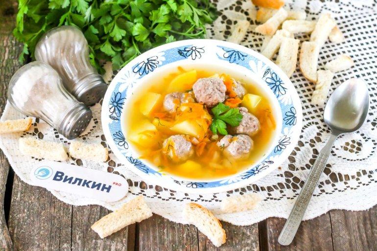 порция супа для детей