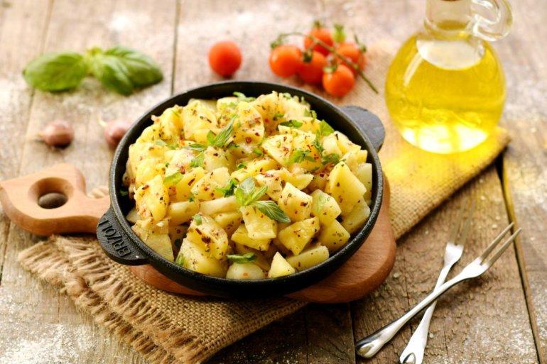 быстрый картофельный гарнир