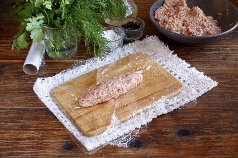 формовка колбаски