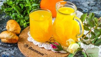 компот из апельсинов и лимона