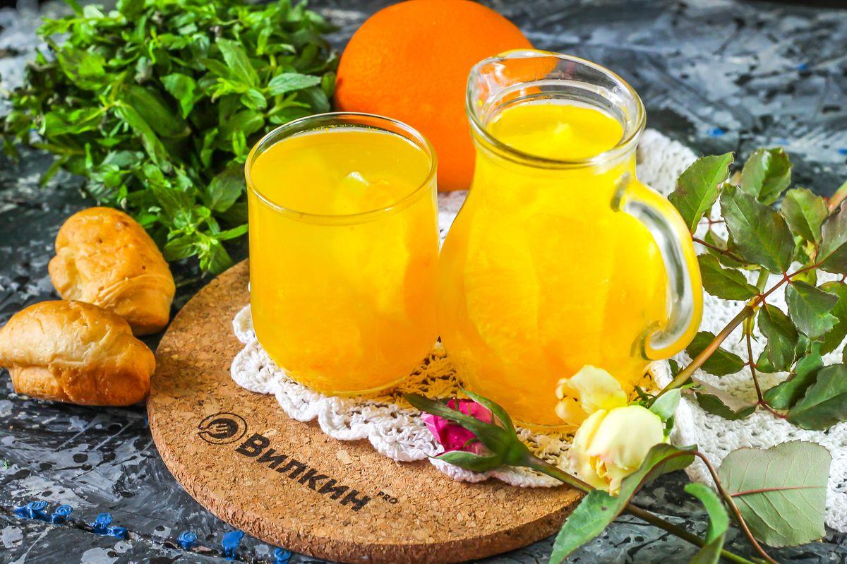 компот из апельсинов пошаговый рецепт с картинками уже будет