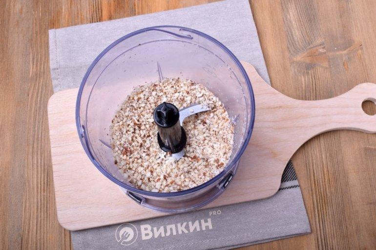измельченная ореховая крошка