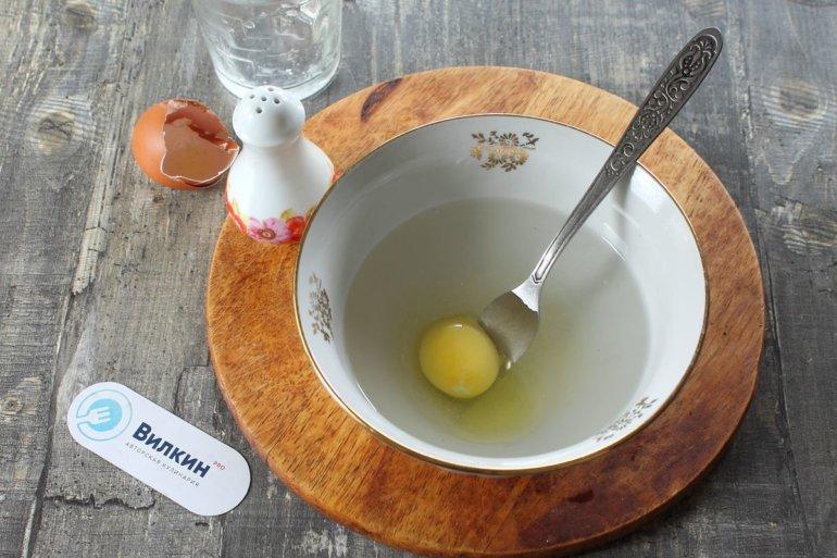 яйцо и вода