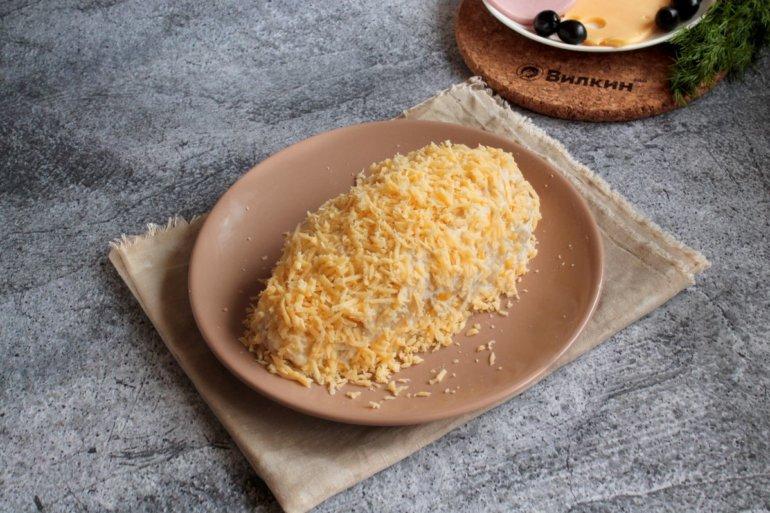 обсыпание сыром