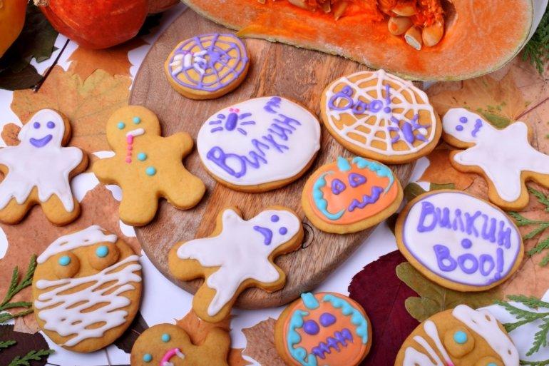 Печенье из тыквы на Хеллоуин