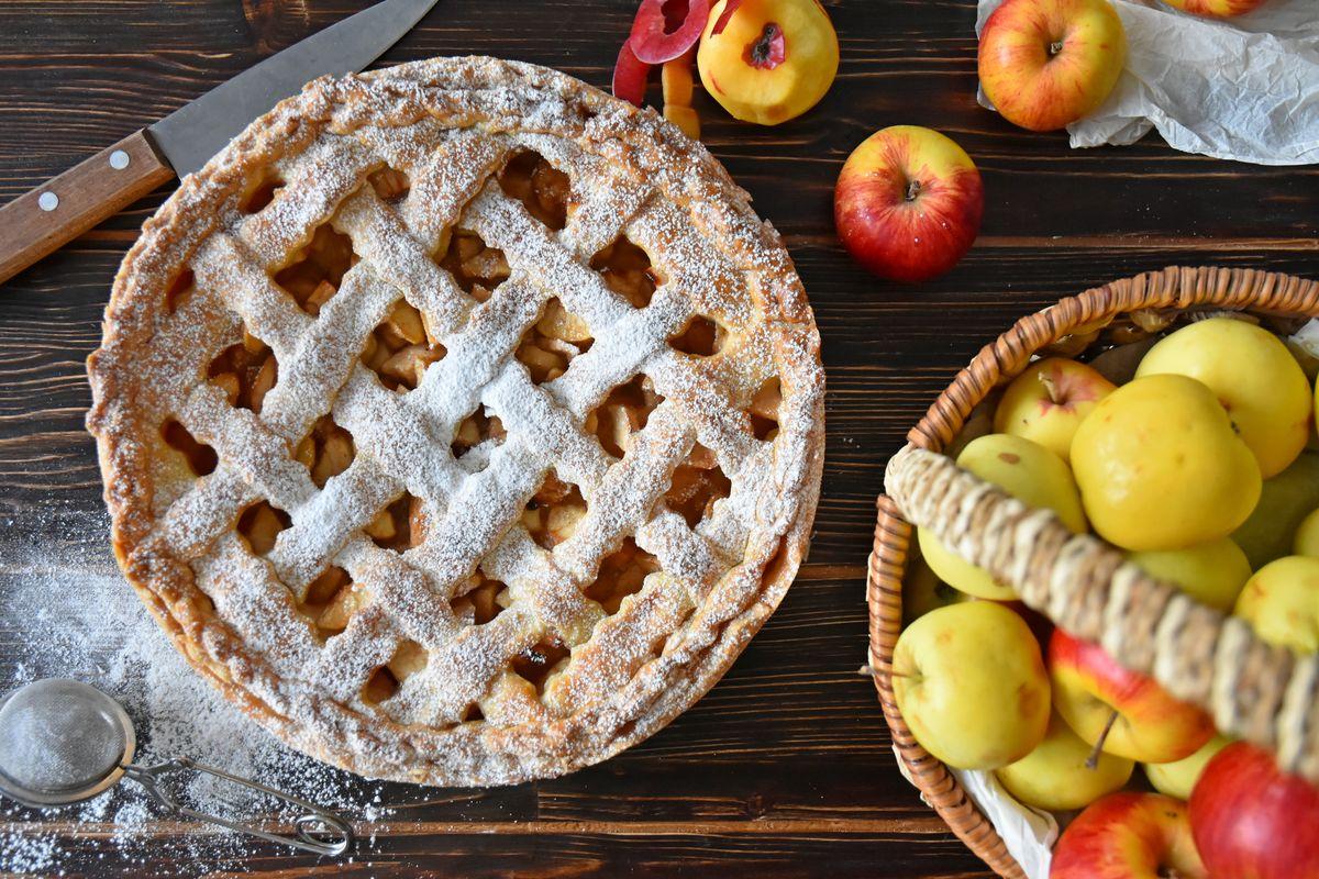 называли пироги с яблоками с картинками расслабление тела дает