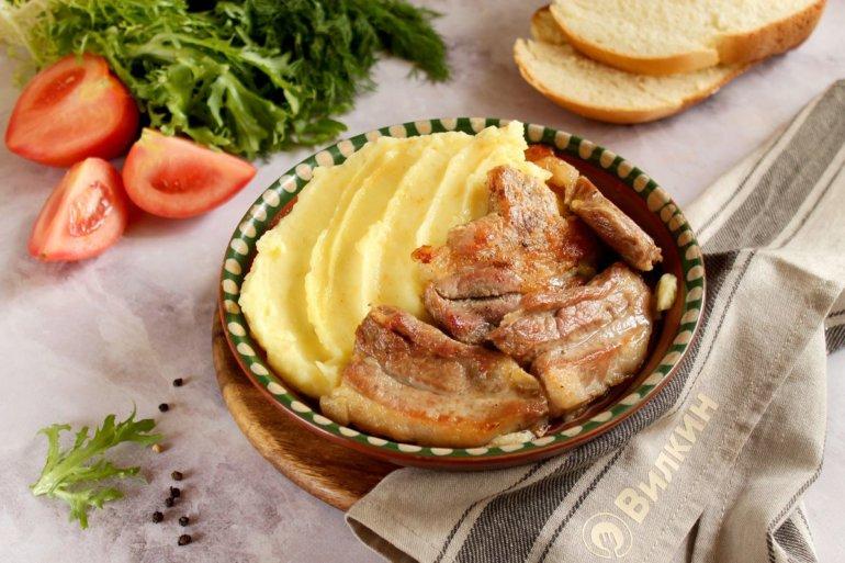 Картофельное пюре с мясом