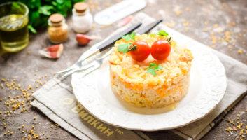 рис с курицей на ужин