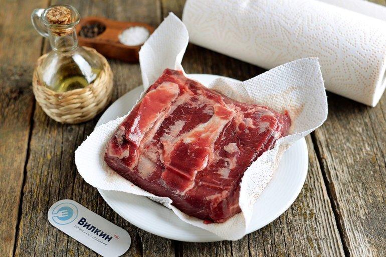 просушивание мяса