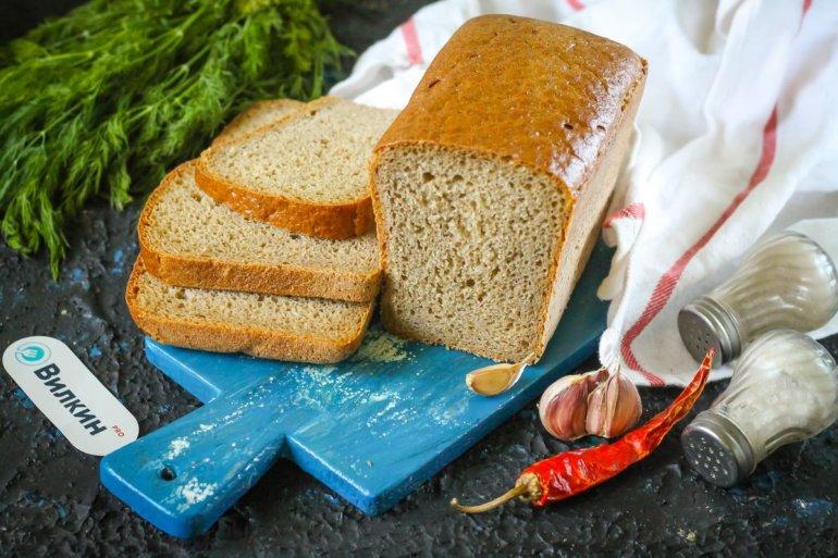 хлеб из ржаной муки на закваске