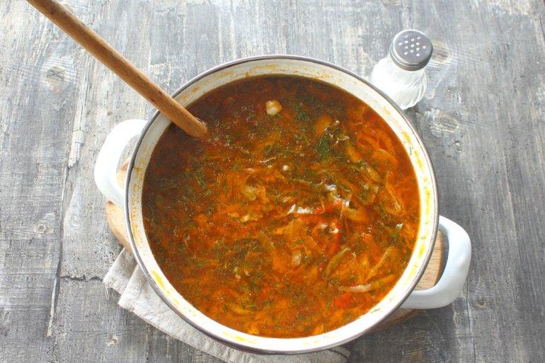 доведение блюда до готовности