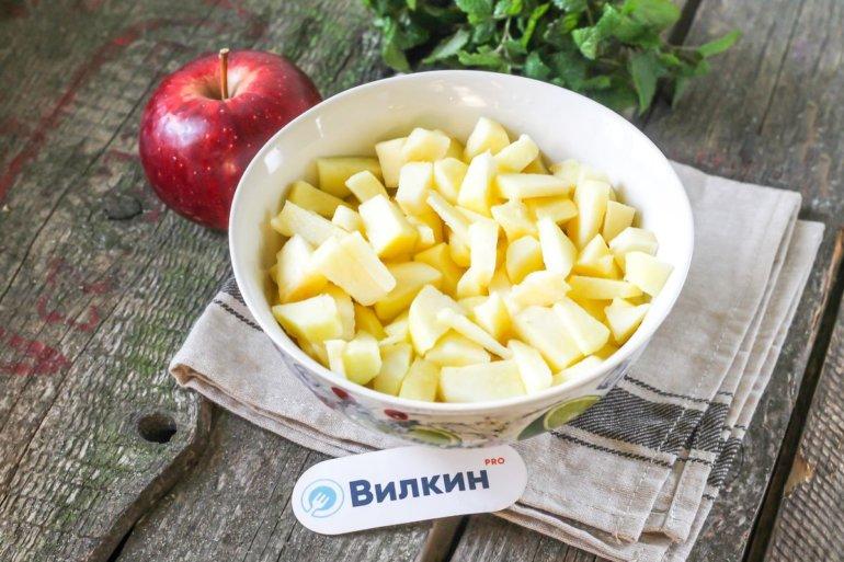 яблочная нарезка