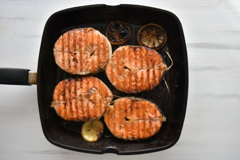 добавление лосося
