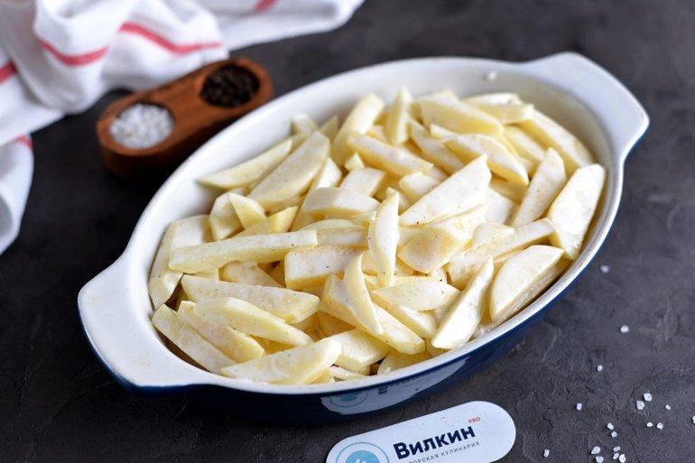 картофельный слой
