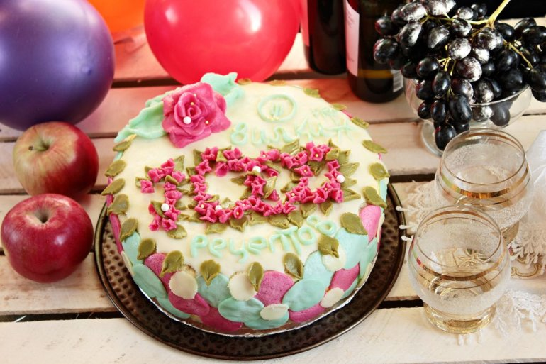 юбилейный торт на Вилкин.pro