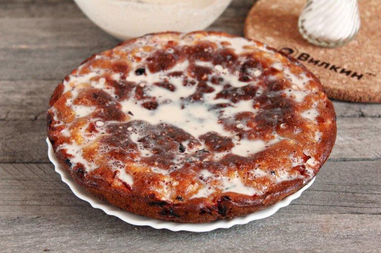 покрытие пирога заливкой