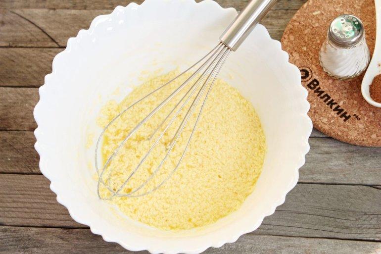добавление яиц и соды