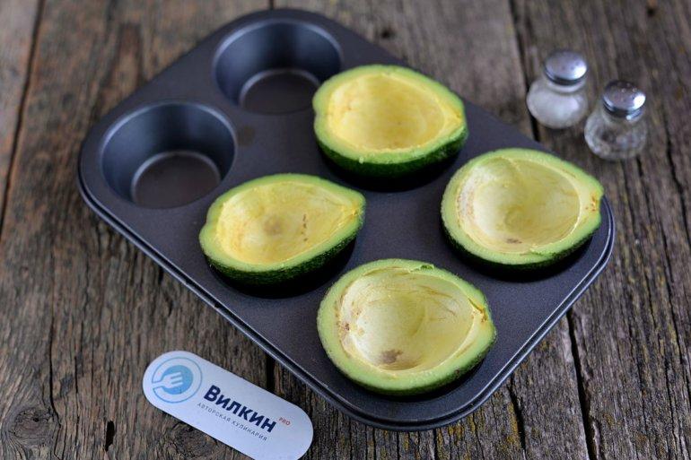 подготовленное авокадо