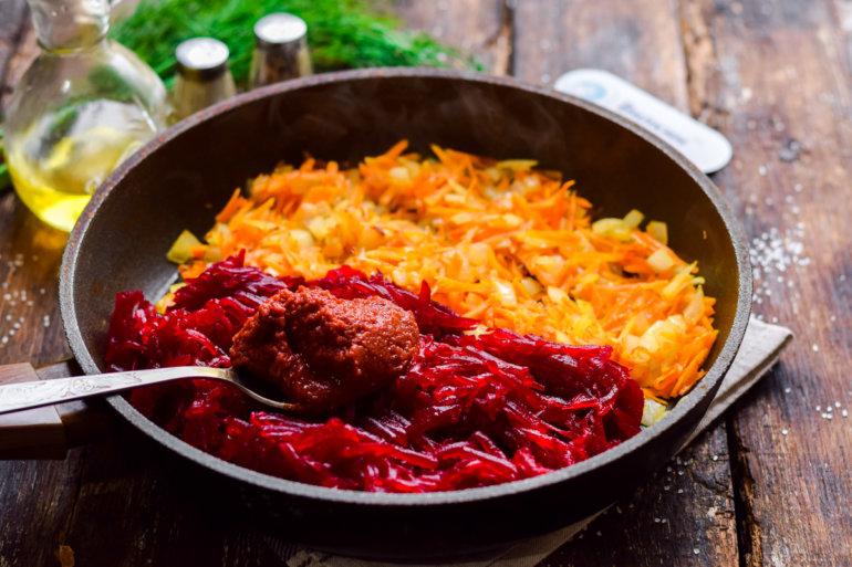введение томатной пасты