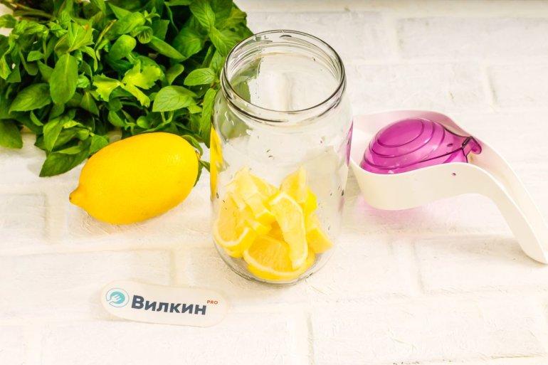 закладка ломтиков лимона