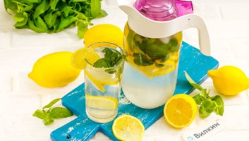 лимонад из лимонов с мятой