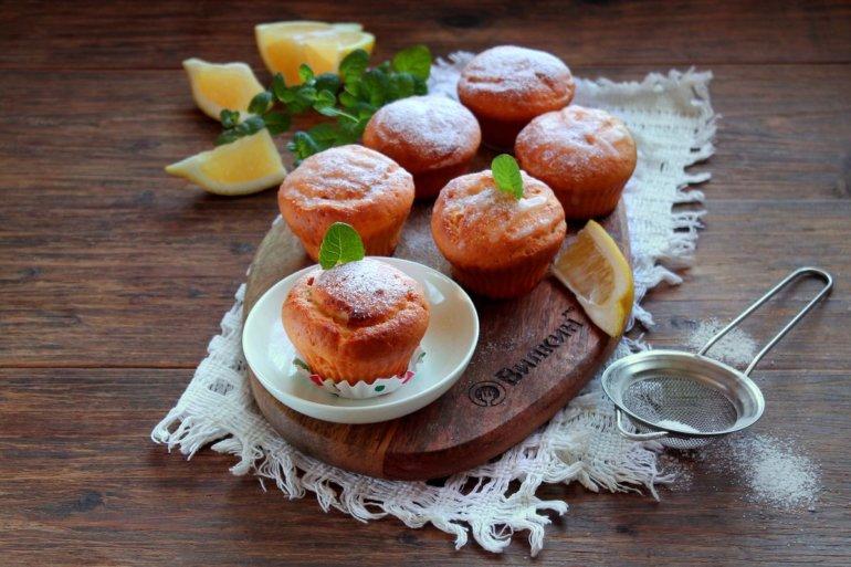кексики с лимонным вкусом и ароматом