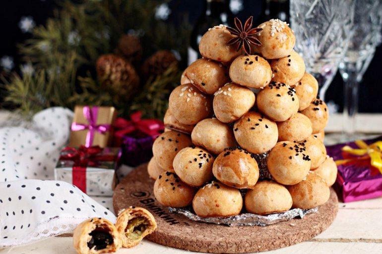сырные шарики на Новый год