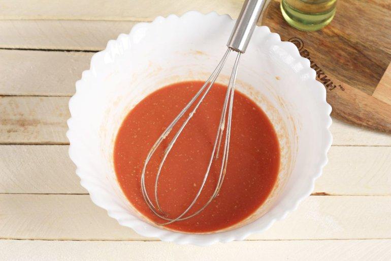 томатная паста с молоком