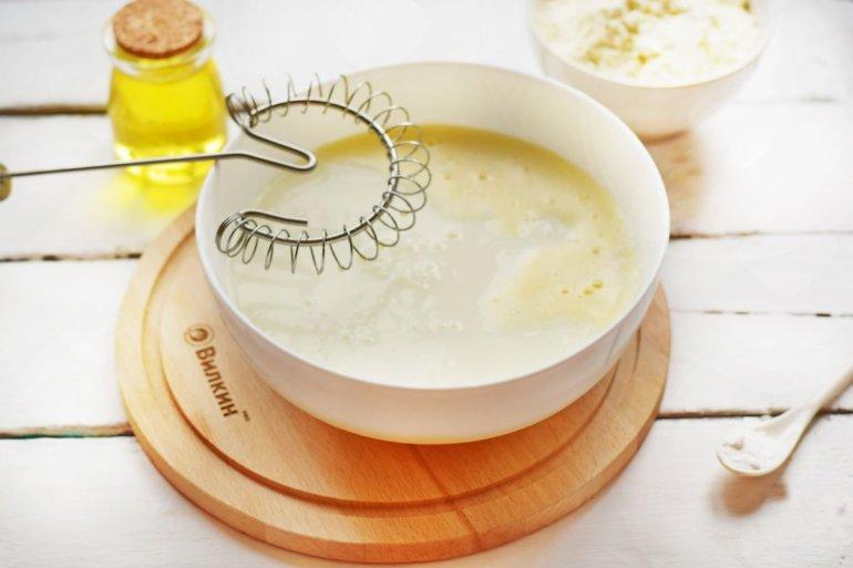 вливание йогурта