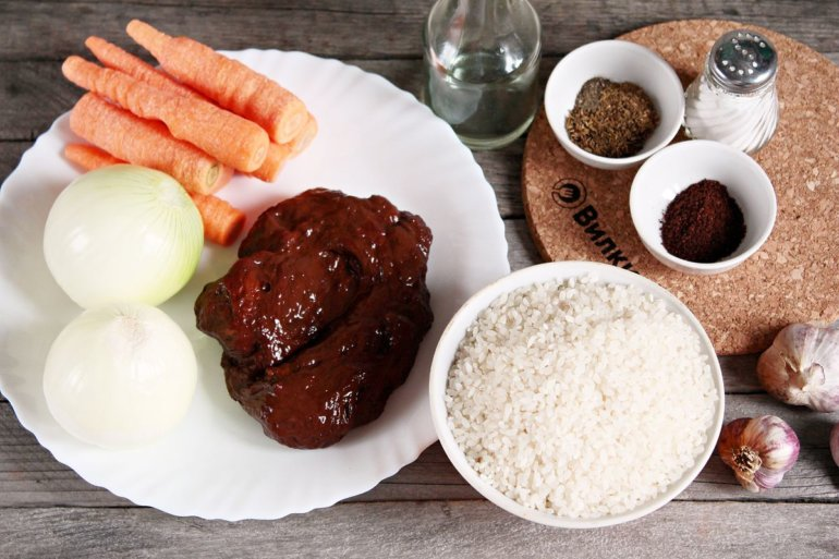 ингредиенты для блюда