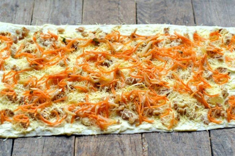 добавление корейской моркови