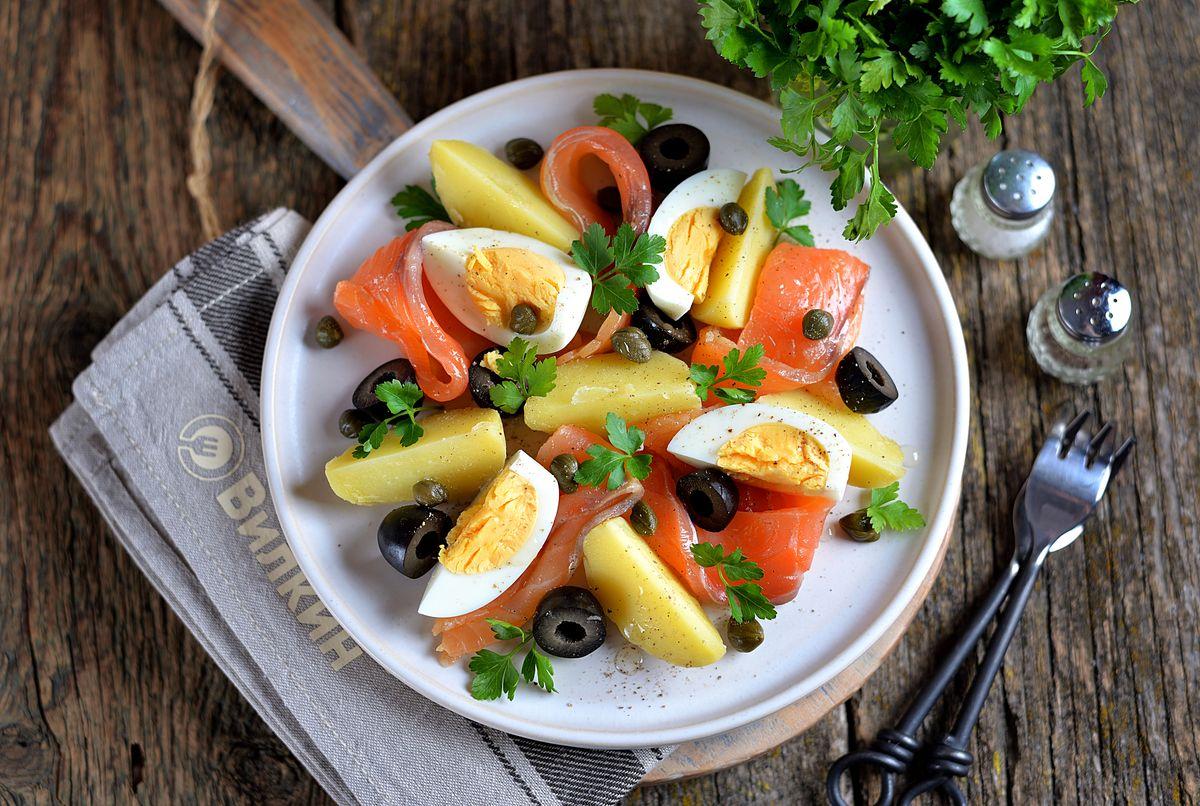 рыбные блюда рецепты с фото салаты используй