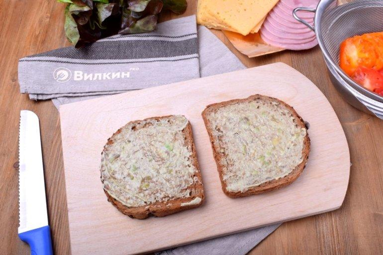 намазка хлеба