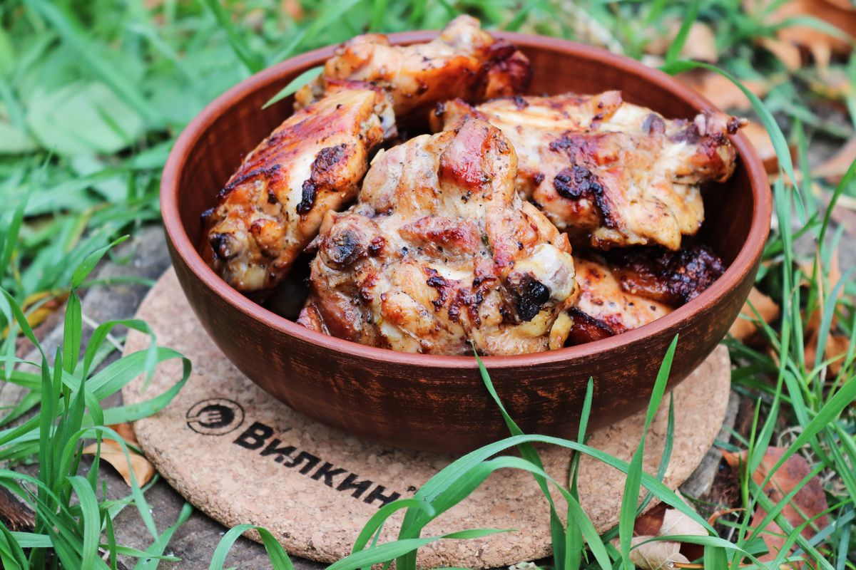 пирог картошкой шашлык из куриных бедрышек рецепт с фото год года все