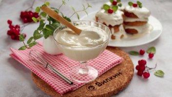 сметанный крем с желатином для торта