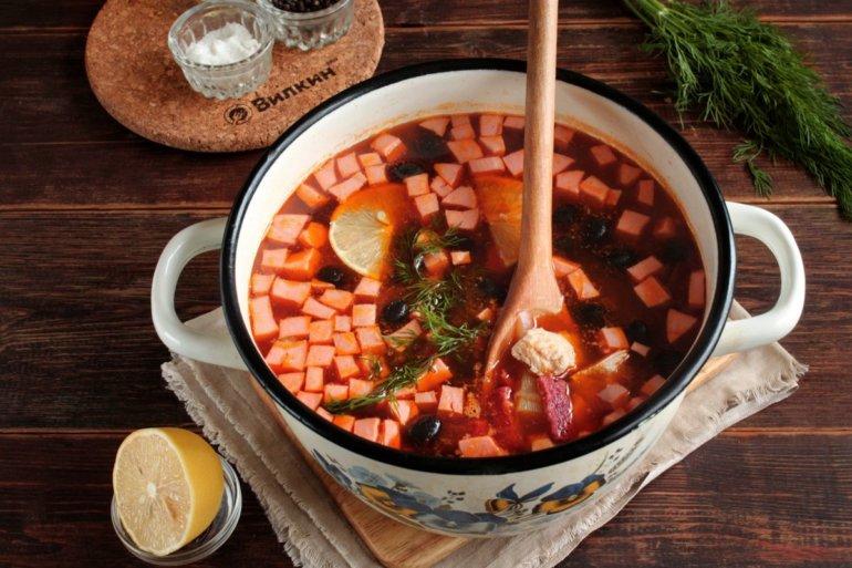 заправка супа