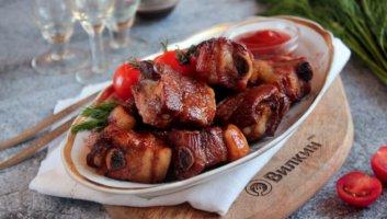 свиные ребрышки в соевом соусе в духовке