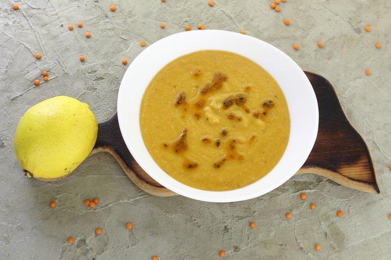 порция супа-пюре по-турецки