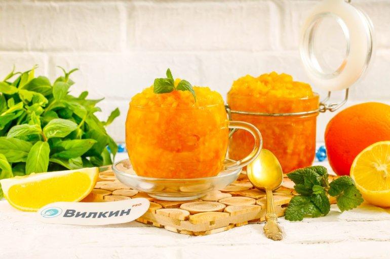варенье из апельсинов и лимонов с кожурой