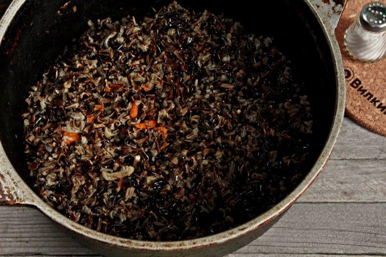 добавление дикого риса